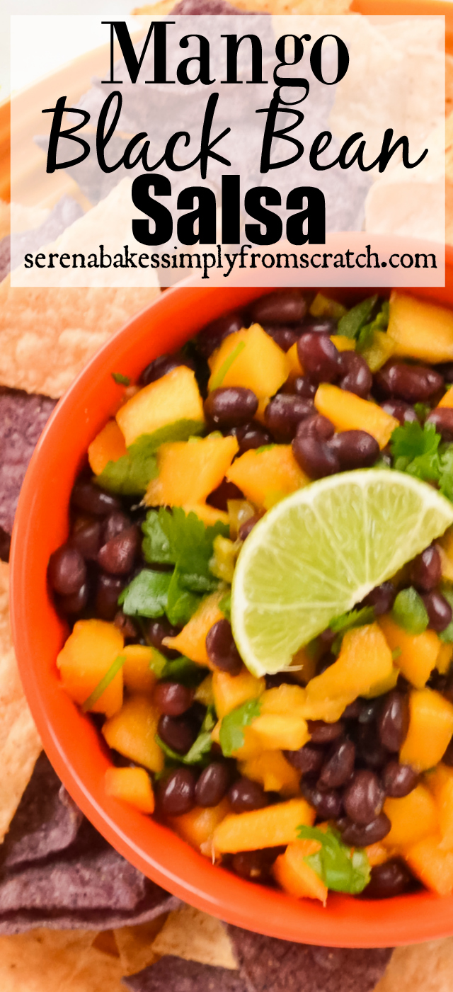 Mango Black Bean Salsa!