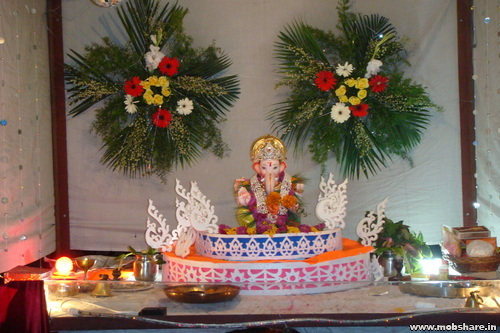 This Is All About Unique Ganpati Decoration Ideas At Home We Hope That Will Helpful To You Decorate Your Please Do Share On Social