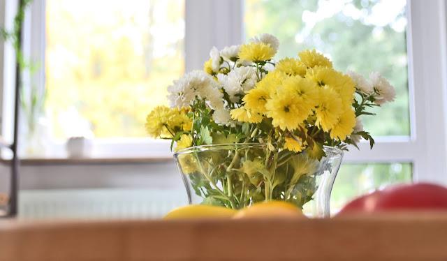 Jesienne kwiaty do mieszkania