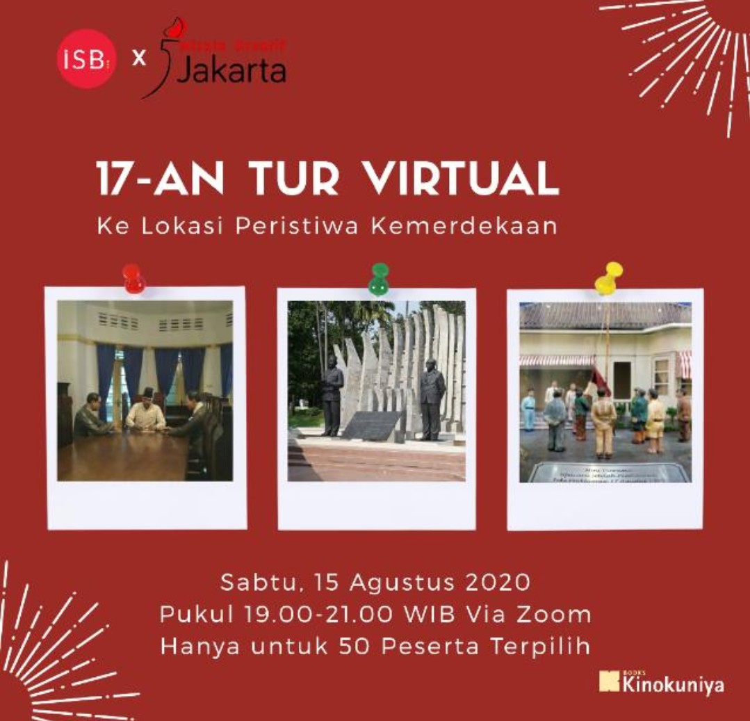 tour virtual kemerdekaan bersama wisata kreatif Jakarta
