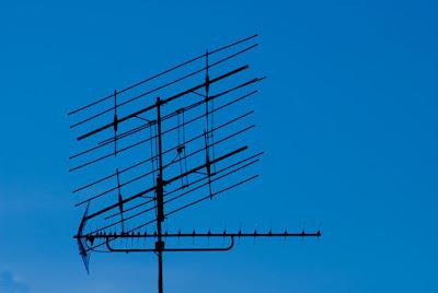 büyük karasal anten eski model