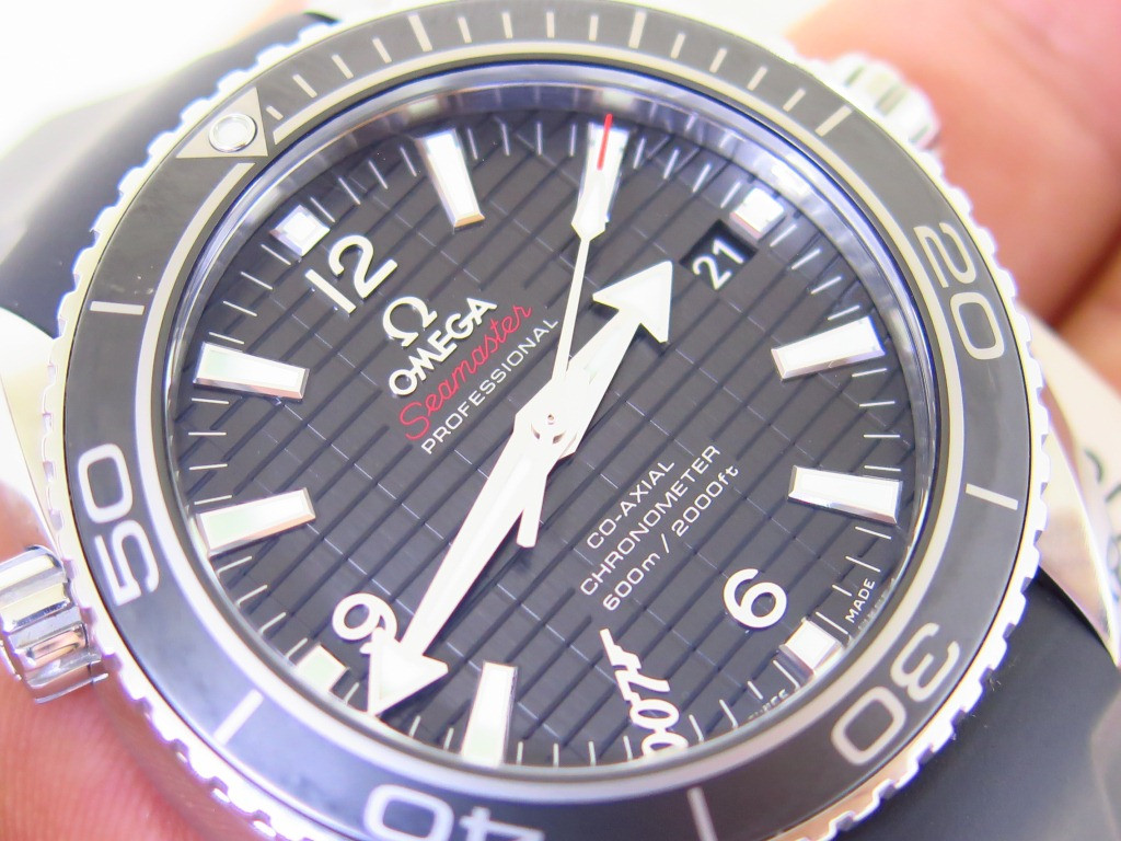 OMEGA SEAMASTER PLANET OCEAN 600m 42mm SKYFALL LIMITED EDITION 5007 - COAXIAL