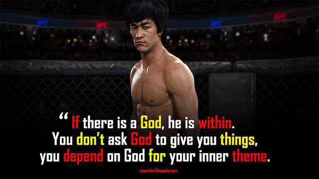 """""""If there is a God, he is within. You don't ask God to give you things, you depend on God for your inner theme."""""""