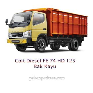Colt Diesel FE 74 HD 125 Bak Kayu