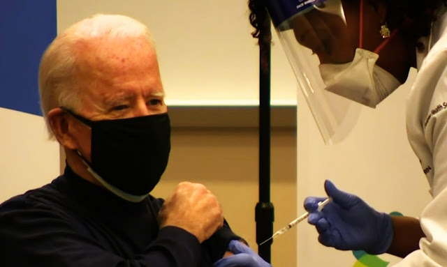 president-elect joe biden gets first dose of covid-19 vaccine