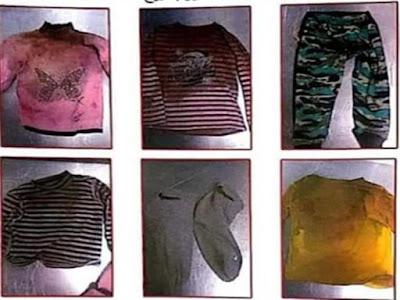 أجهزة الأمن تنشر صور ملابس الطفلة التي عثر عليها بدون رأس بمنطقة 15 مايو