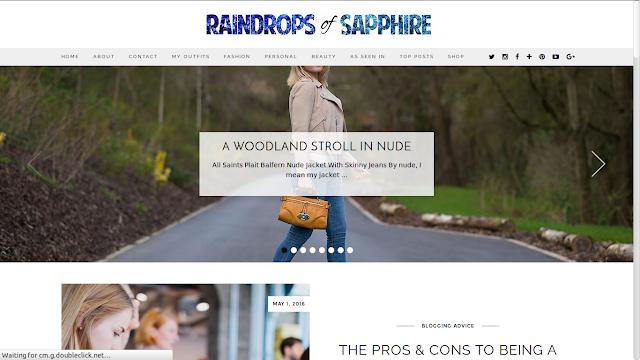 Rain Drops of Sapphire
