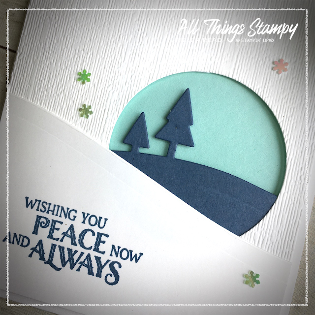 Trimming the Town Home Together Dies Stampin Up