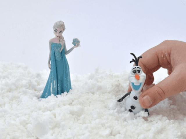 Shaving Cream Snow Recipe from Make  Life Lovely