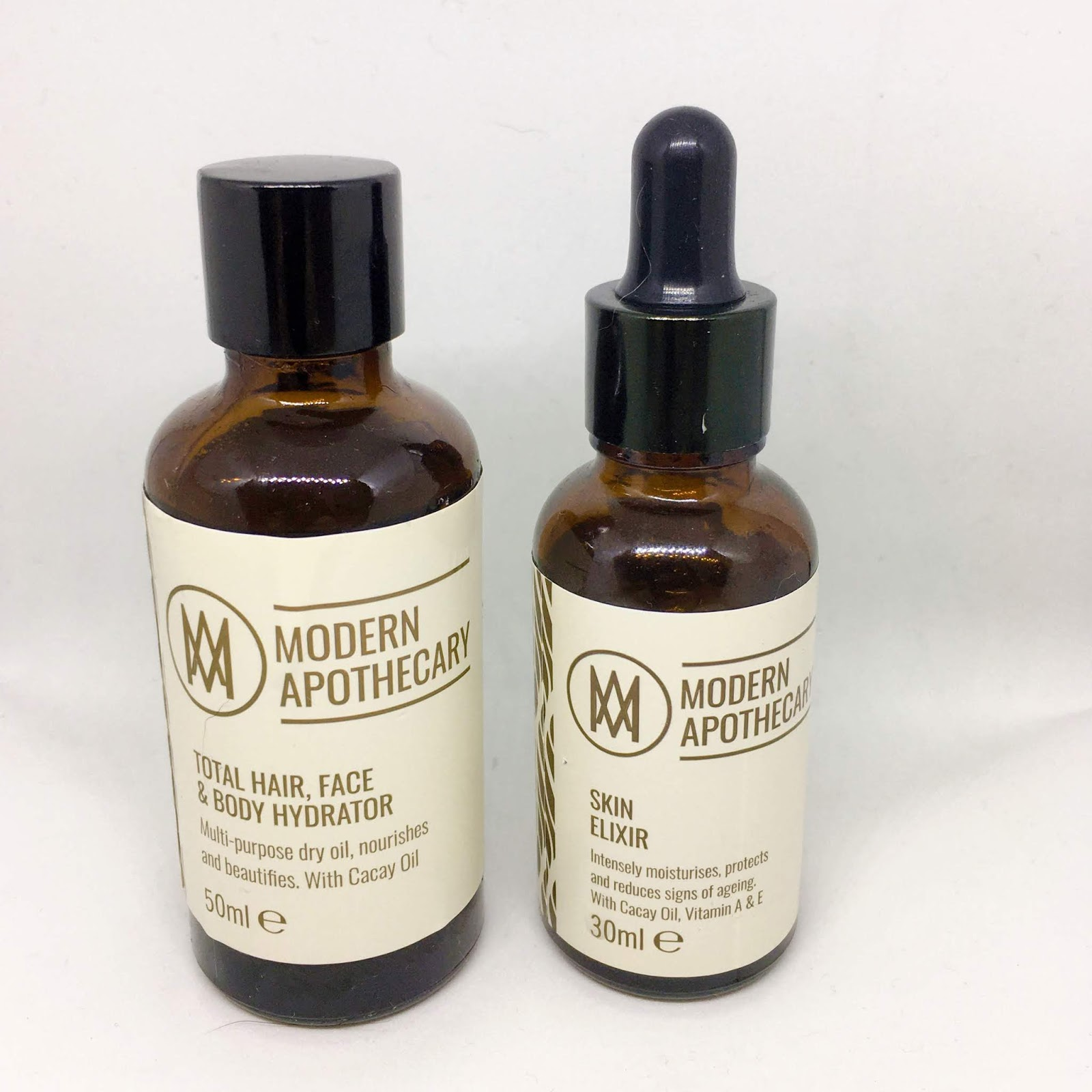 Modern Apothecary Skin Elixir and Face, Hair & Body Oil