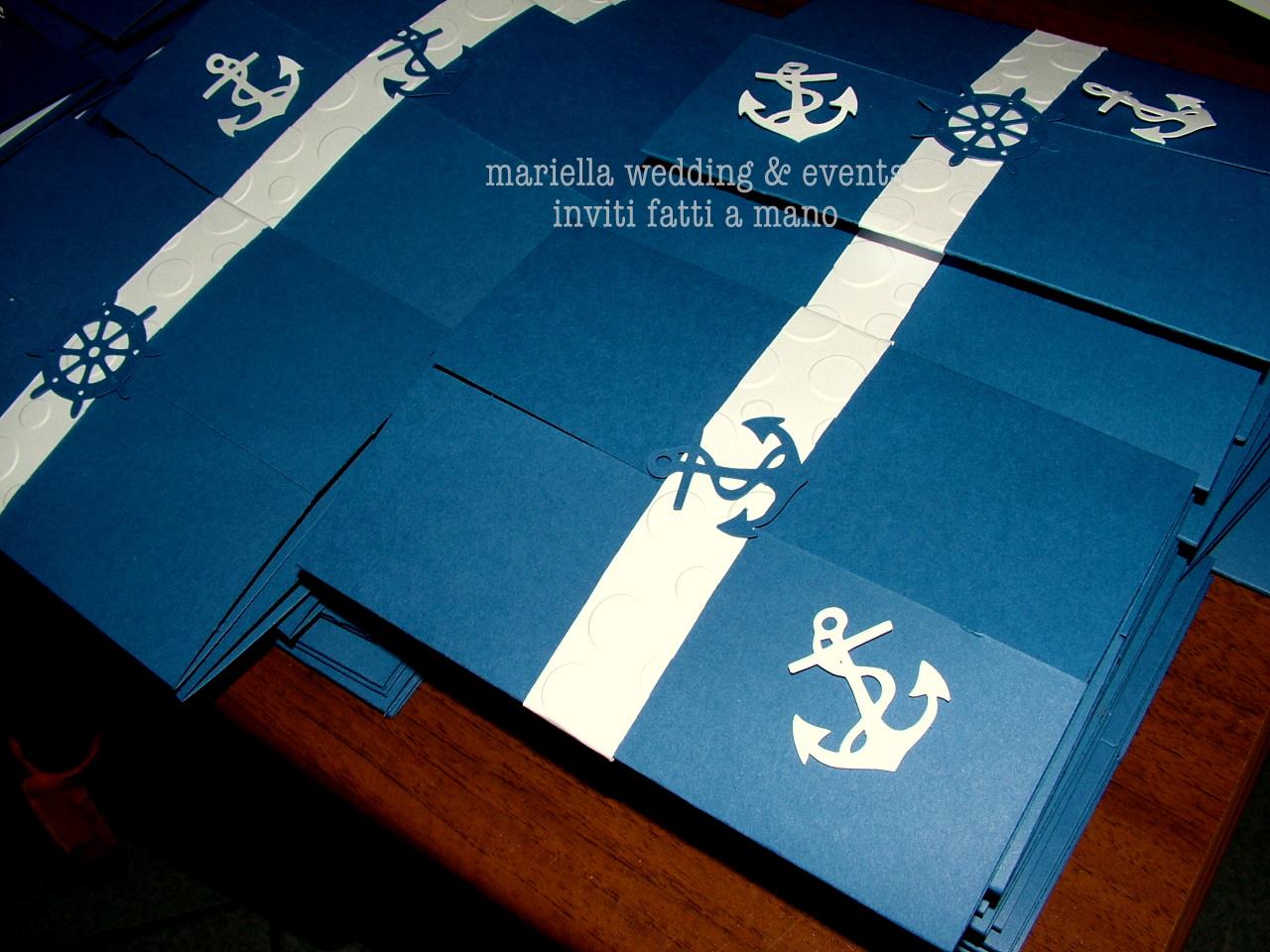Ben noto Mariella Wedding & Events Inviti : 18 anni tema mare FR61