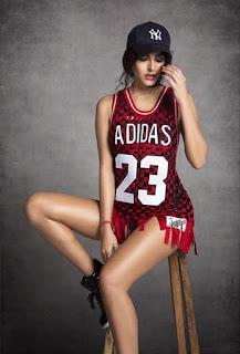 Mandana Karimi As Sports Person For Adidas 3