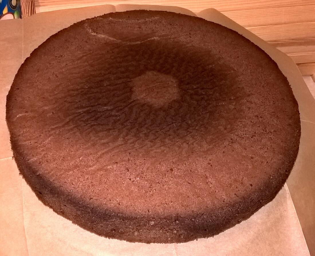 Idealny biszkopt czekoladowy