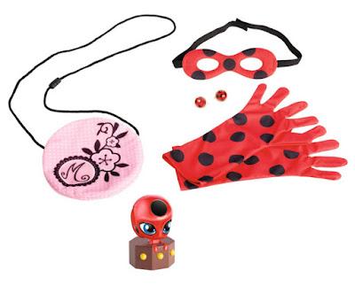 JUGUETES - Prodigiosa . Las aventuras de Ladybug Conviertete en Ladybug : accesorios disfraz Bandai 2016 | DISNEY | Miraculous Comprar en Amazon España
