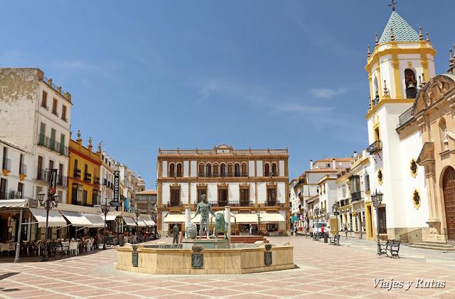 Plaza del Socorro de Ronda
