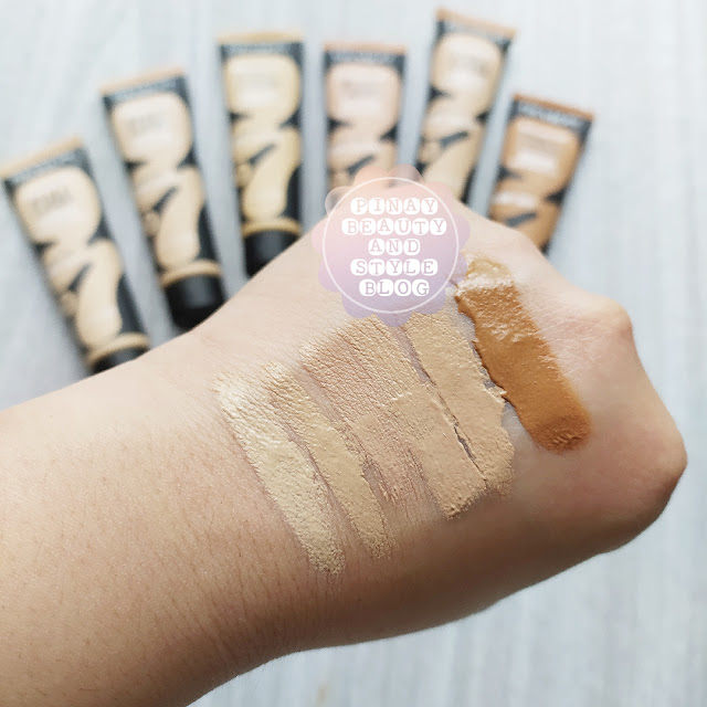 Revlon Colorstay Full Cover Foundation Review Shades Swatches