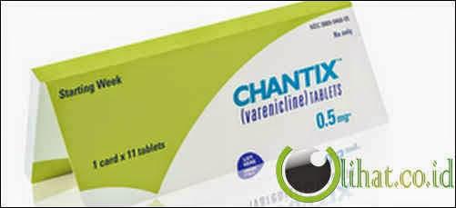 Varenicline atau Chantix
