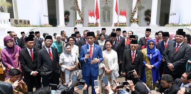 Komposisi Kabinet Jokowi Ternyata Pernah Terjadi Di Era Soeharto