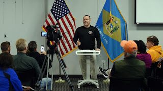 Punkin Chunkin President Frank Payton holds press conference