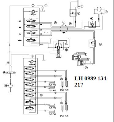 Mạch thủy lực cau Dongyang 6 tan SS1404-SS1406