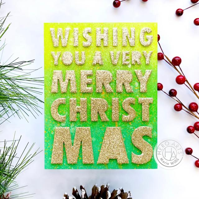 Cardbomb, Maria Willis, Hero Arts, Hero Arts Winter Catalog 2021, stamps, stamping, cards, cardmaking, cardmaker, art, color, handmade, diy, greeting cards, holidays, Christmas,