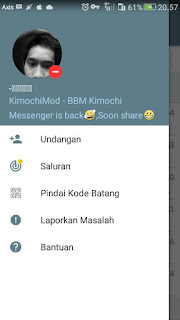 Free Download BBM MOD Kimochi Messenger for Android v3.3.1.24