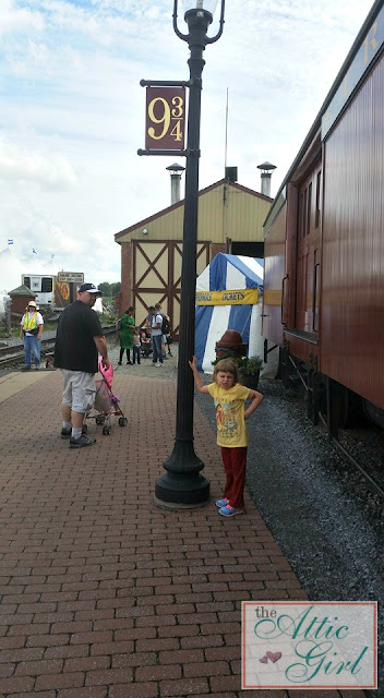 Platform 9 and 3/4, train rides, Pennsylvania attractions
