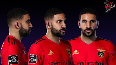 PES 2021 Faces Adel Taarabt by Prince Hamiz
