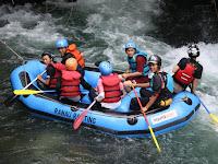 Serunya Arung Jeram Bersama Ranau Rafting