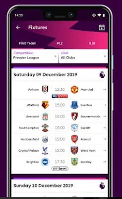التطبيق الرسمي للفنتازي Premier League Official App