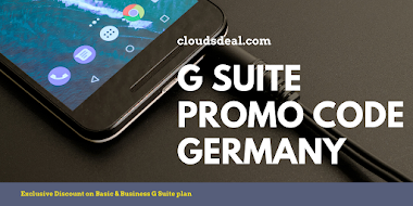 Offering Free G Suite Business Promo Code Germany