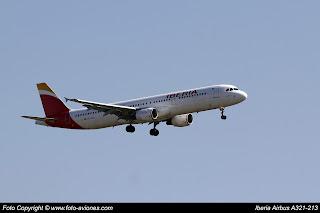 Airbus A321 EC-JGS