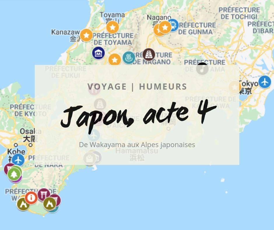 Mon quatrième voyage au Japon