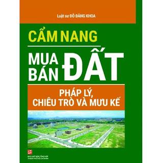 CẨM NANG MUA BÁN ĐẤT ebook PDF-EPUB-AWZ3-PRC-MOBI