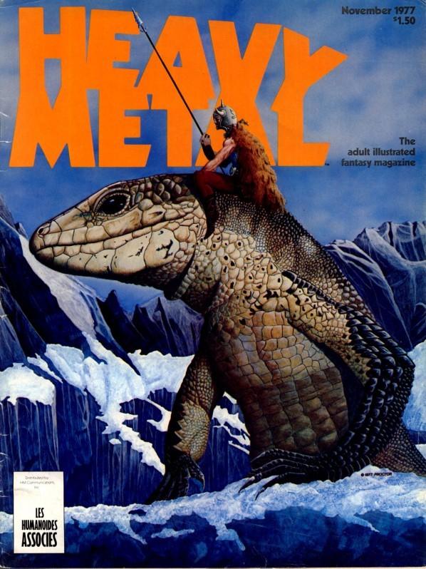 Heavy Metal, November 1977