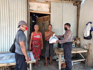 Bansos dari Polresta Probolinggo Untuk Desa Jerebeng Wonomerto