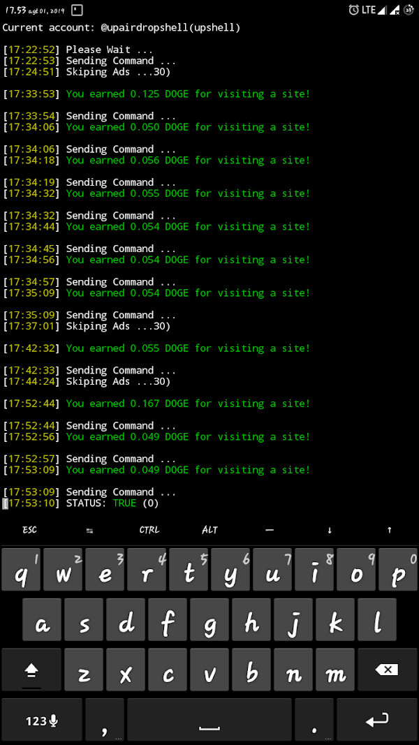 auto click doge click bot bypass captcha terbaru - BlogDroidT