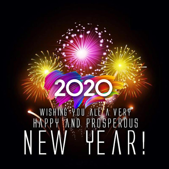 Happy New Year 2020 Greeting Cards & Images