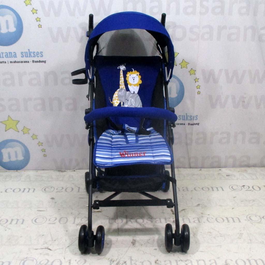 tokosarana™ | Mahasarana Sukses™: Kereta Bayi Pliko PK106 Winner Buggy Blue