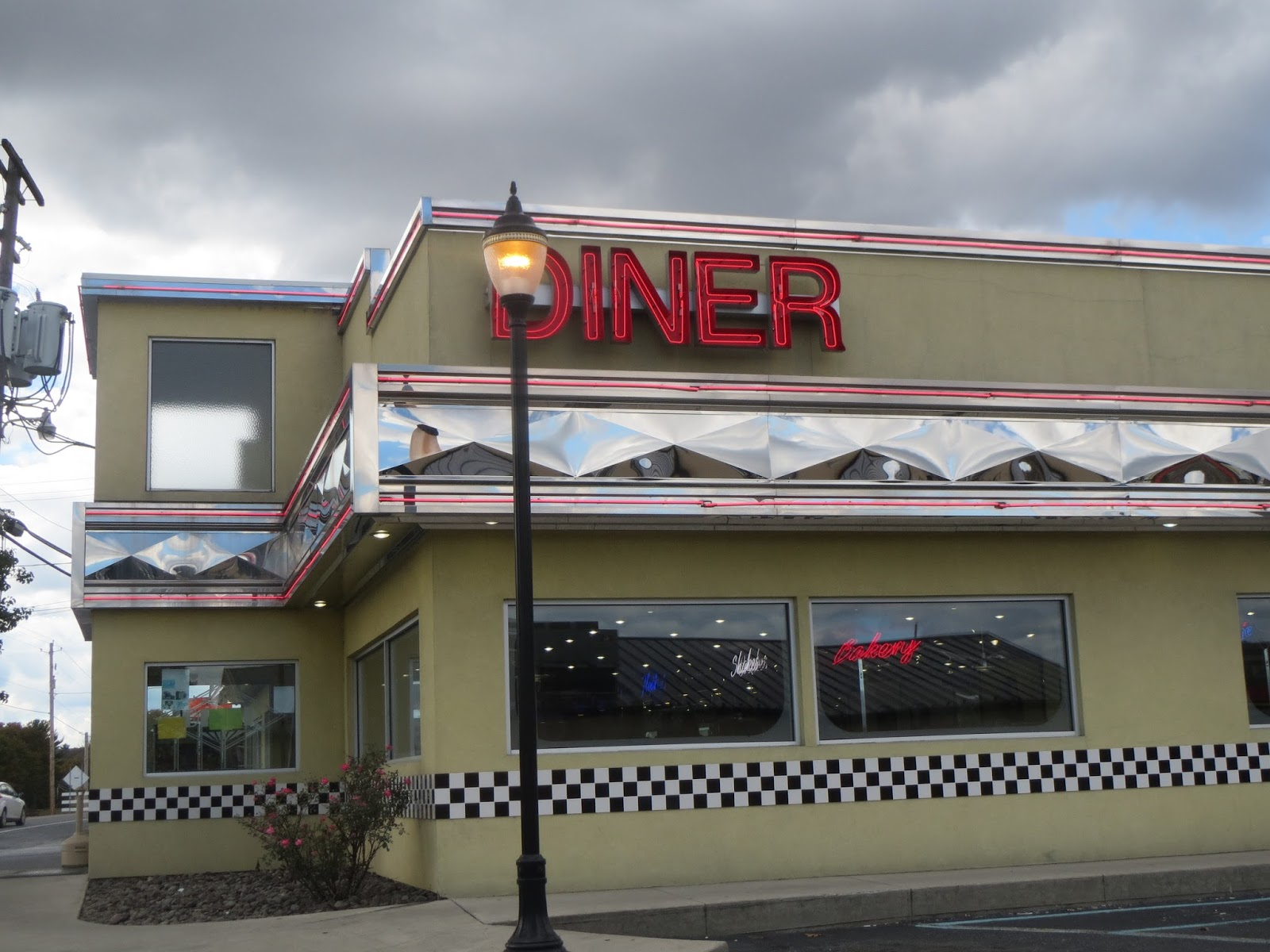 We Were In Pennsylvania And Ready For Lunch When Saw Diner Knew Had Found Our Restaurant