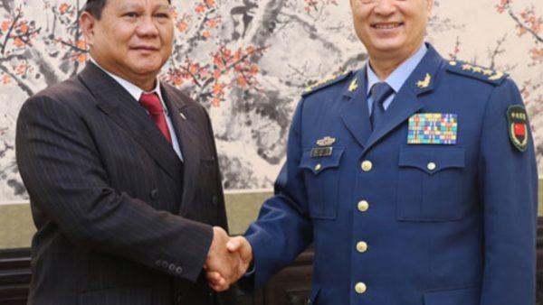 Prabowo Ingin Perdalam Hubungan Persahabatan dengan China