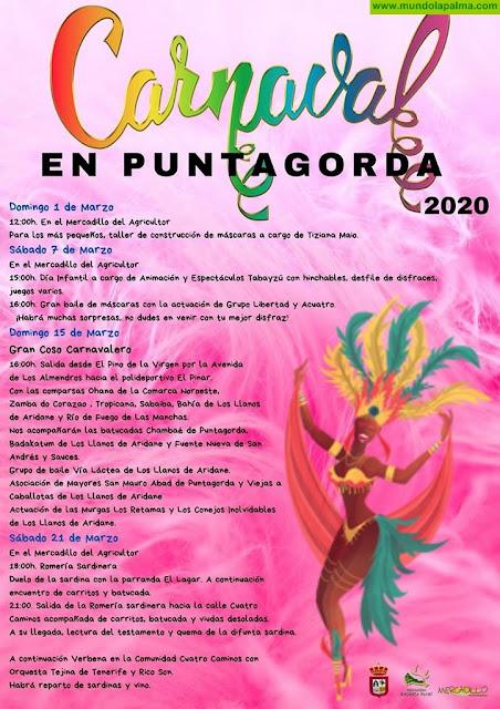 Programa del Carnaval 2020 de Puntagorda