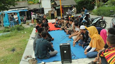 Nunggu Buka Puasa, Pemuda KNPI Gelar Diskusi Bareng Tentang Potensi Gunung Kembang