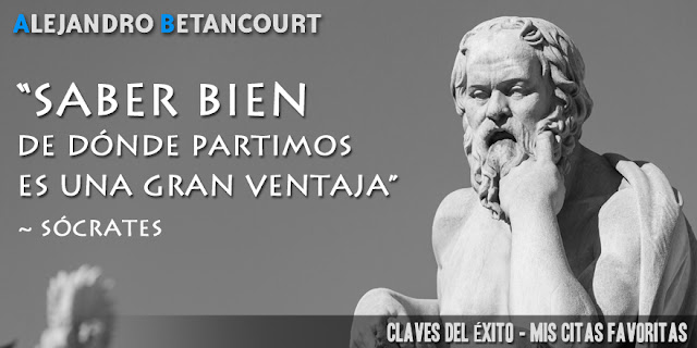 Alejandro Betancourt: Saber bien de donde partimos es una gran ventaja (Sócrates)