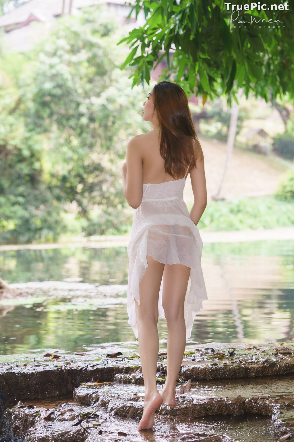 Image Thailand Model - Sirirut Thananet - Beautiful Angel and Small Stream - TruePic.net - Picture-10