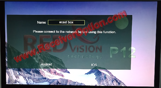 REDVISION P12 HD RECEIVER NEW SOFTWARE 27 OCTOBER 2020