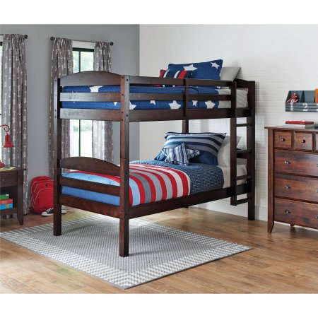 Awesome If you ure looking for twin beds or a bunk bed check out this Better Homes and Gardens Leighton Twin Wood Bunk Beds plus BONUS Mattresses at Walmart for