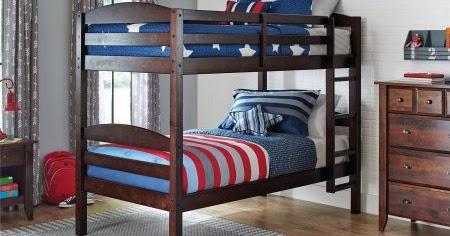 Awesome Savvy Spending Walmart Twin Bunk Bed Set converts to two twin beds for only shipped Plus cash back HURRY