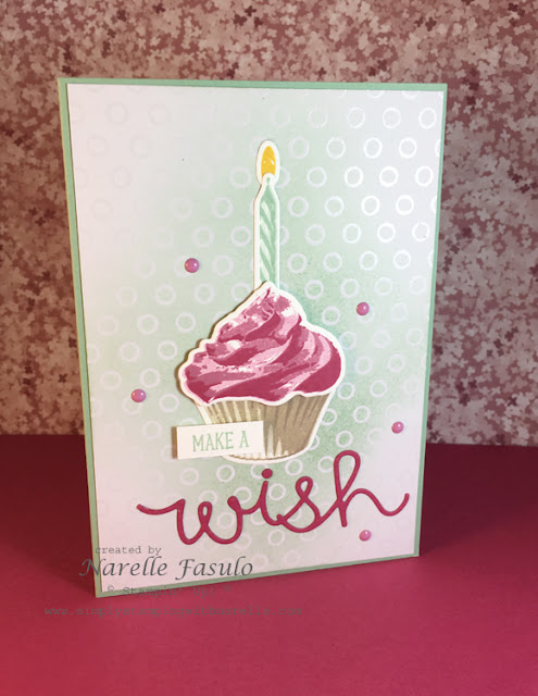 Sweet Cupcake - Narelle Fasulo - Simply Stamping with Narelle - available here - http://www3.stampinup.com/ECWeb/ProductDetails.aspx?productID=141498&dbwsdemoid=4008228