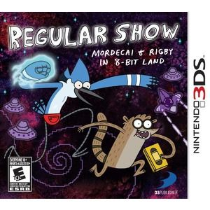 Rom Regular Show Mordecai & Rigby in 8-Bit Land 3DS